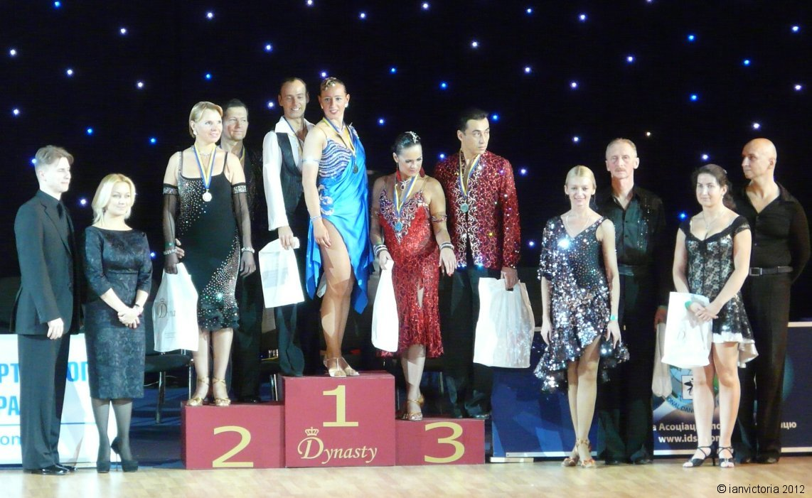IDSA World Cup 10 Dance Champions 2012