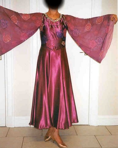 Raspberry Pink Ballroom Dress