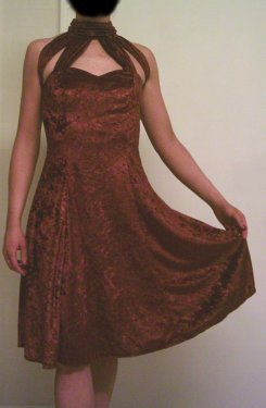 Bronze Practice/Latin Dress