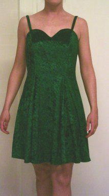 Green Practice/Latin Dress