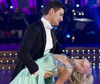 Tom Chambers & Camilla Dallerup