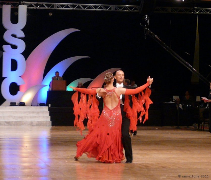 US Ballroom Championship Runners Up 2011